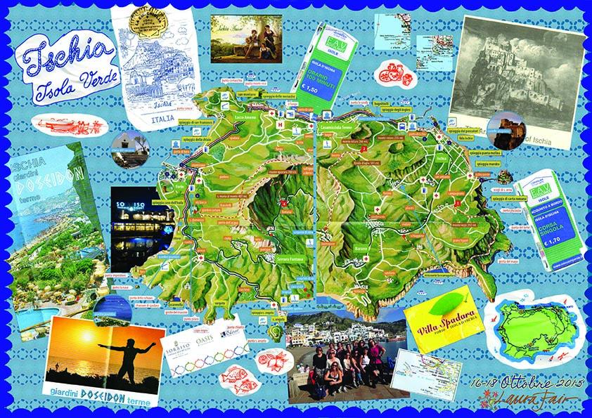 Ischia Postcard